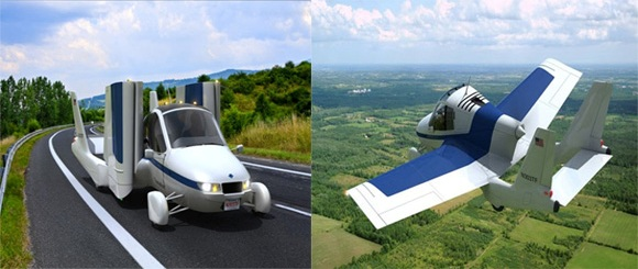 Flying prototype car - no longer pure fiction