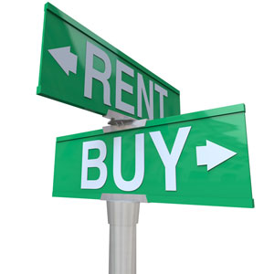 Buy vs. rent – which is cheaper